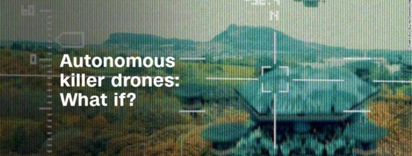 Autonomous killer drones: what if?