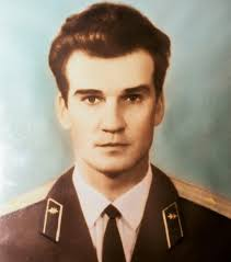In the photo: Stanislav Petrov during the prevention of a third world war.